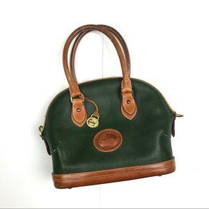 Vintage Dooney & Bourke Hunter Green Purse